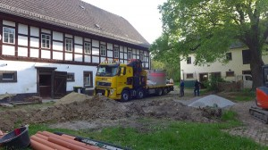 LKW mit neuer Anlage