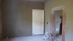 neue Tür vom Esszimmer in die Bohlenstube