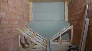 So sieht die Unterkonstruktion des Pelletlagers aus