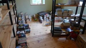 ganz schön viele Bücher...